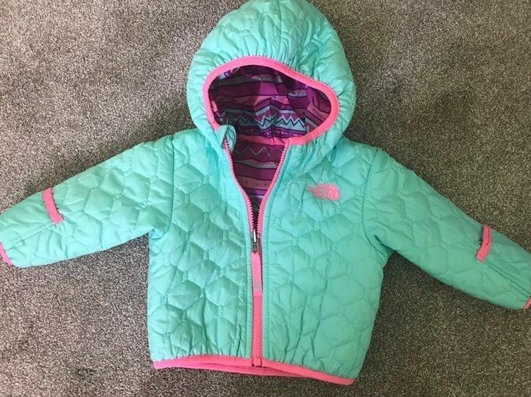 Infant reversible North Face Jacket