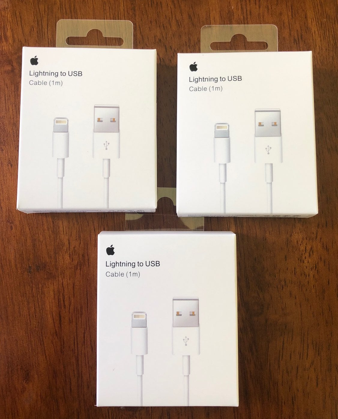3x iPhone Charger