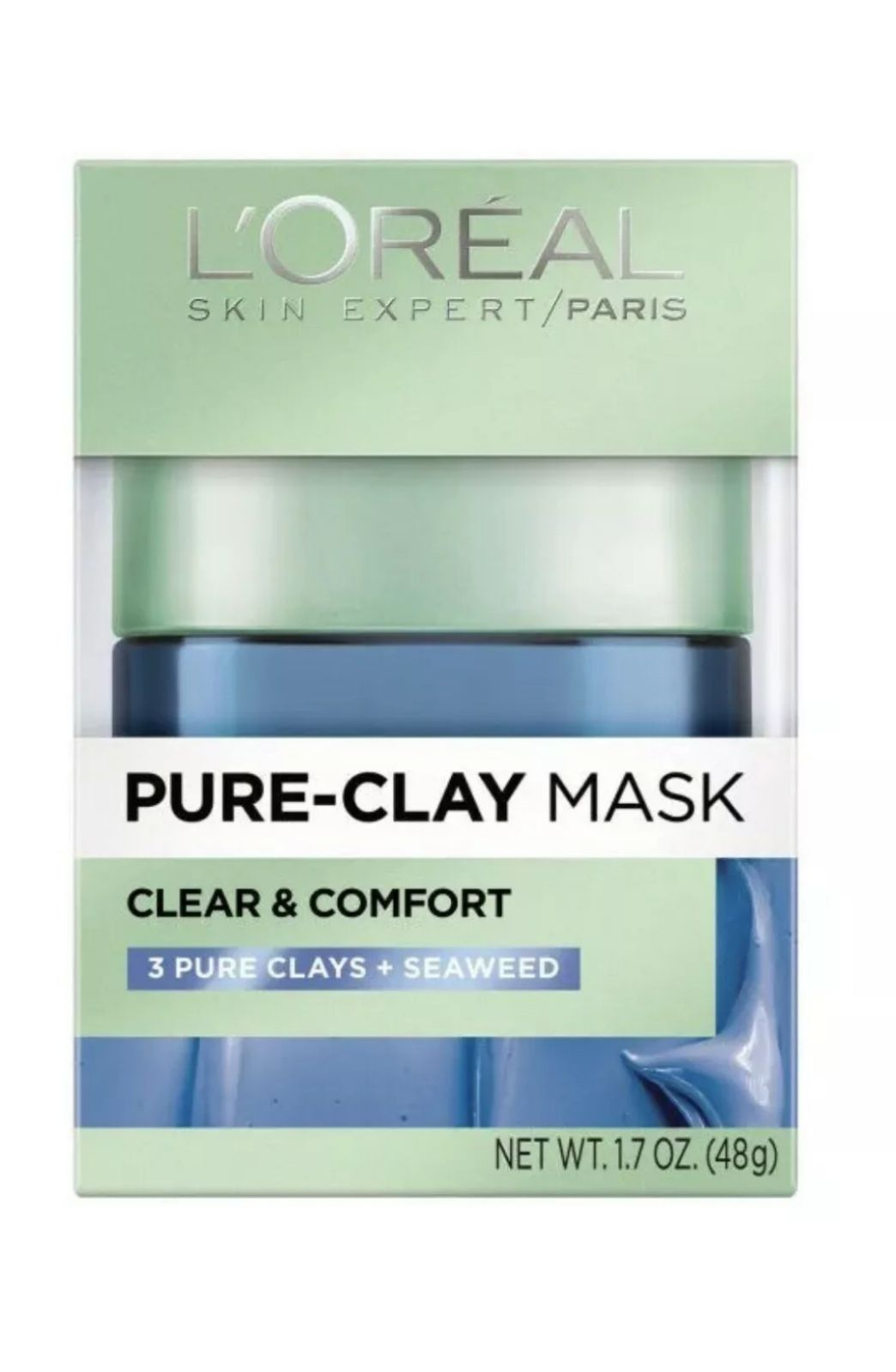 Loreal Pure Clay Mask Clear & Comfort