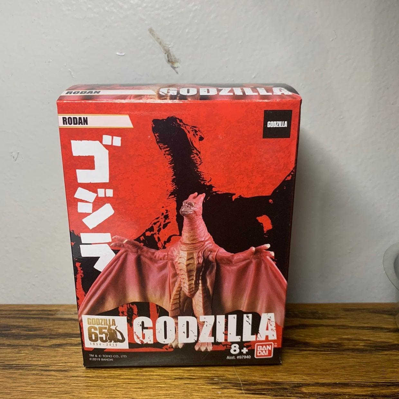 Godzilla rodan bandai figure