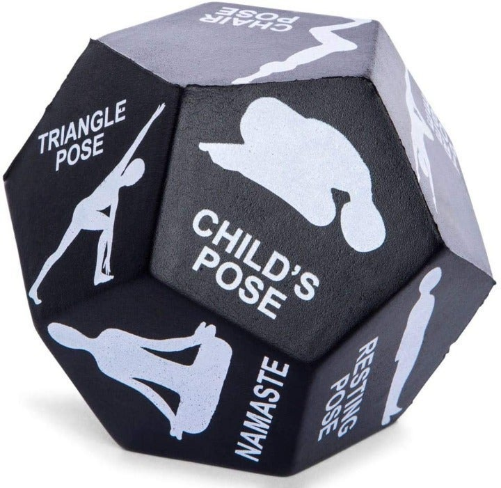 12 Sided Yoga Exercise Dice / Fitness
