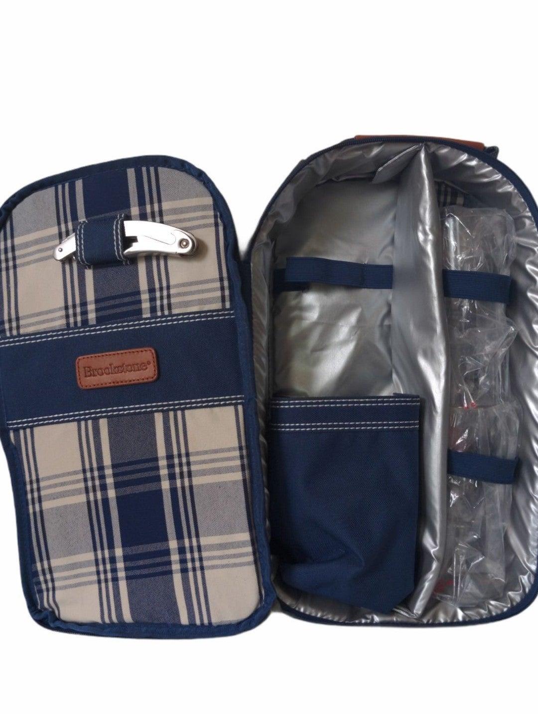 Brookstone wine carrier- bag