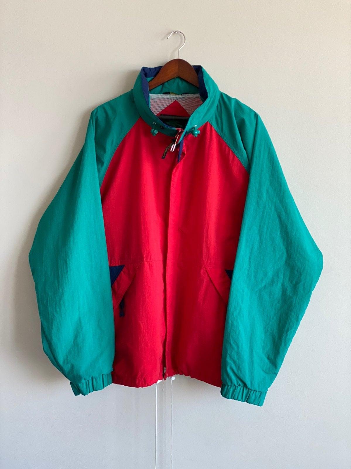 Vtg Field & Stream Color Block Jacket