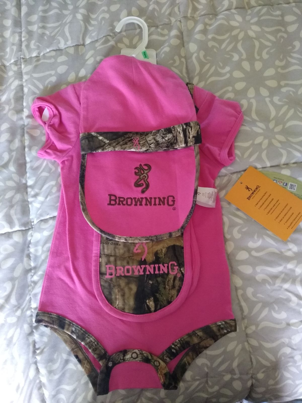 Browning Baby Girl Set