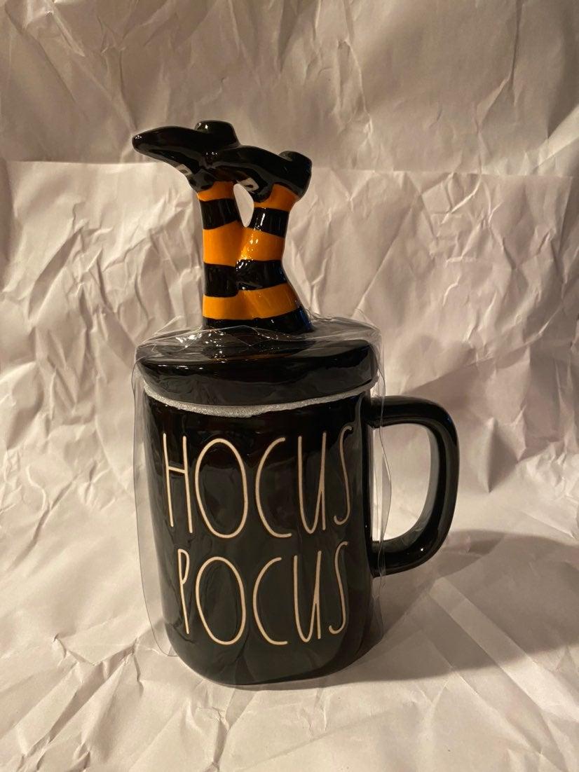 Rae Dunn hocus pocus mug with Topper