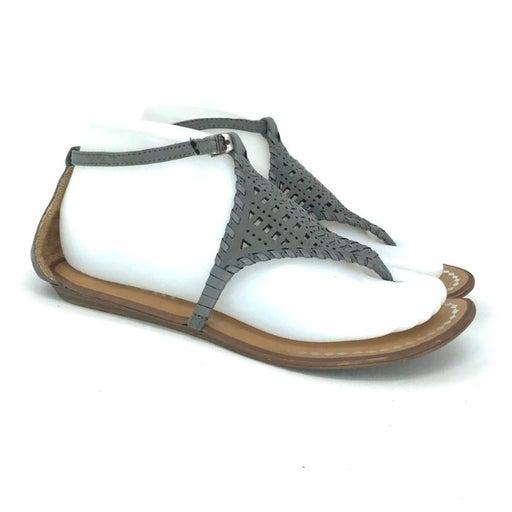Report Womens Gray Slingback Sandals
