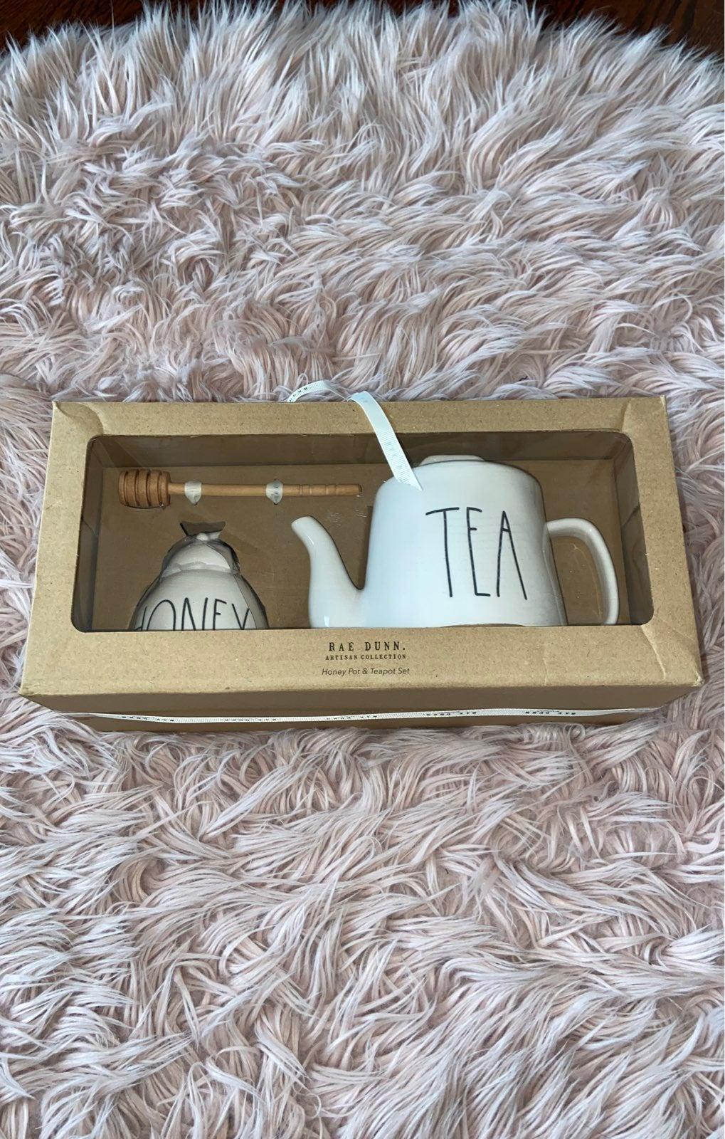Rae Dunn Tea and Honey