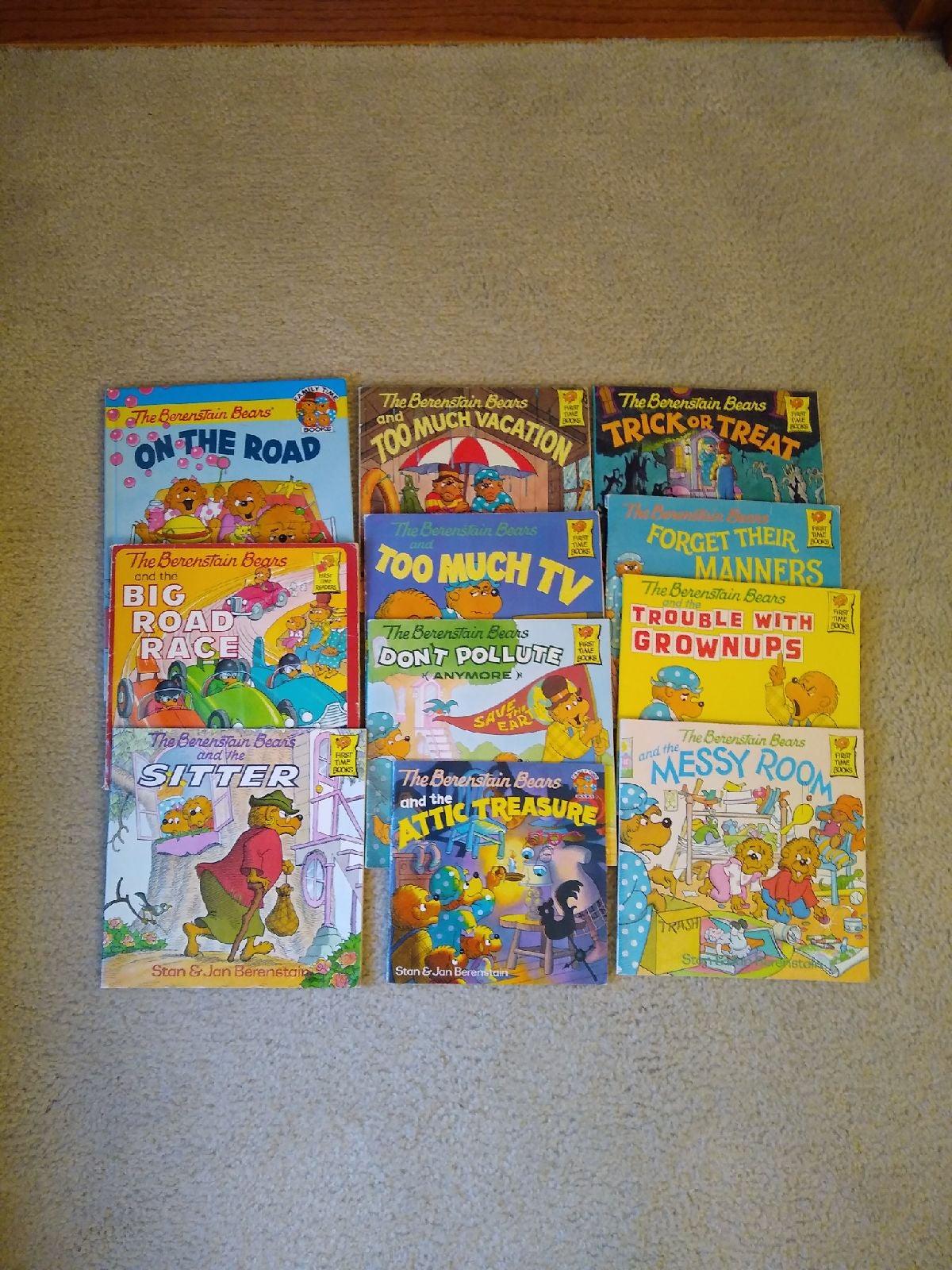Berenstein Bears Book Bundle