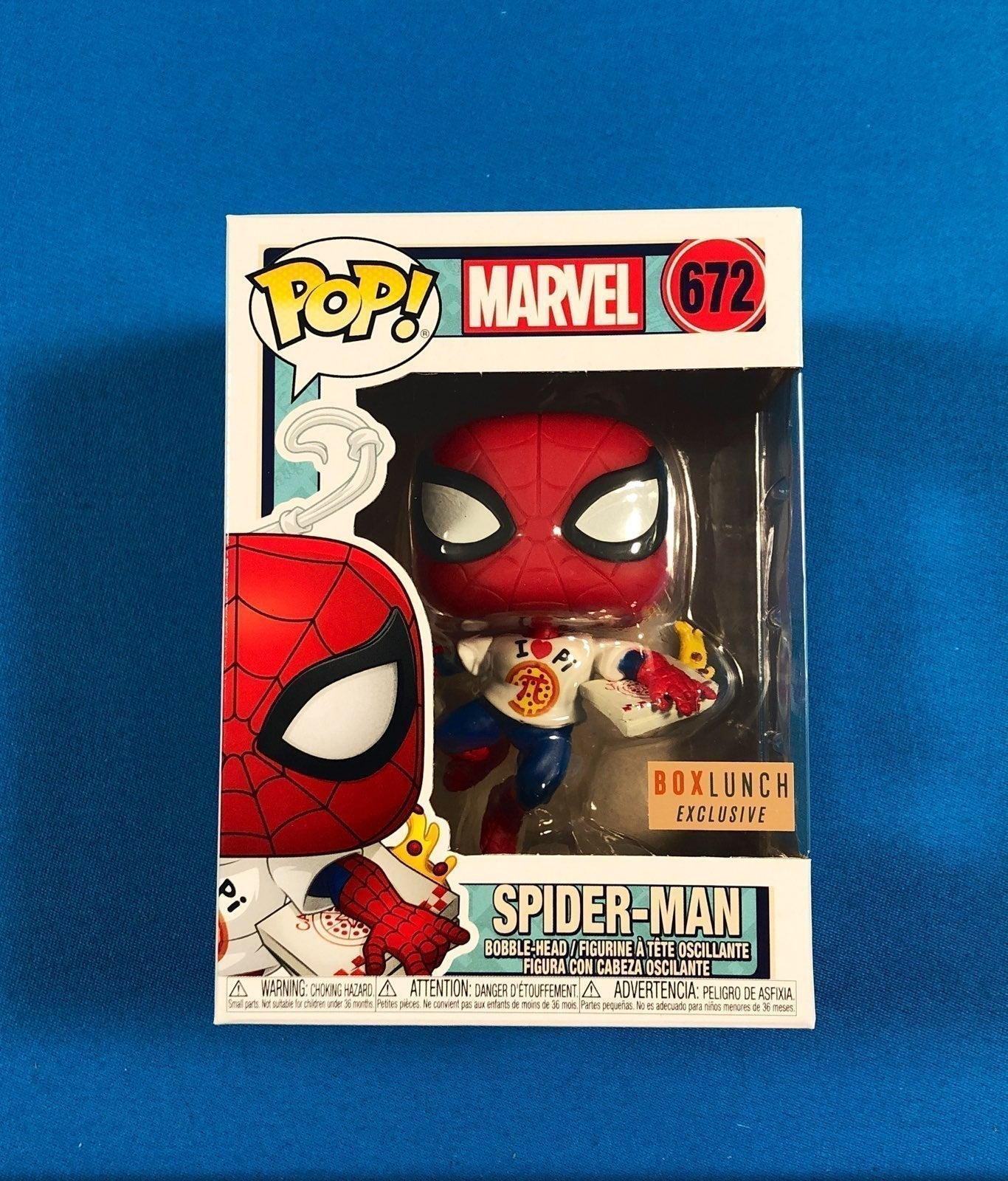 Funko Pop Spiderman Marvel Eat The Unive