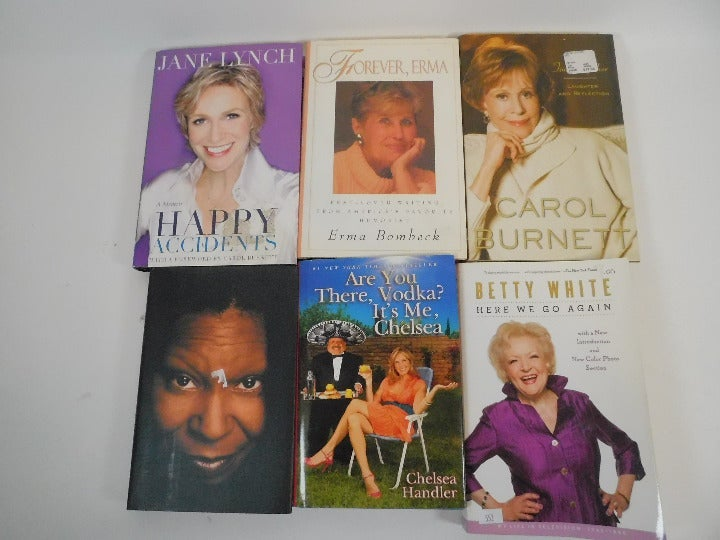 6 Biographies Memoir Books Funny Women