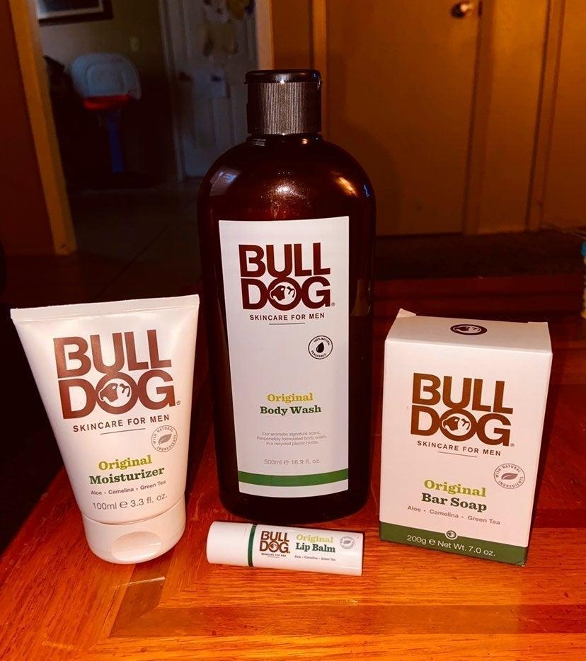 Bulldog skin care for men!