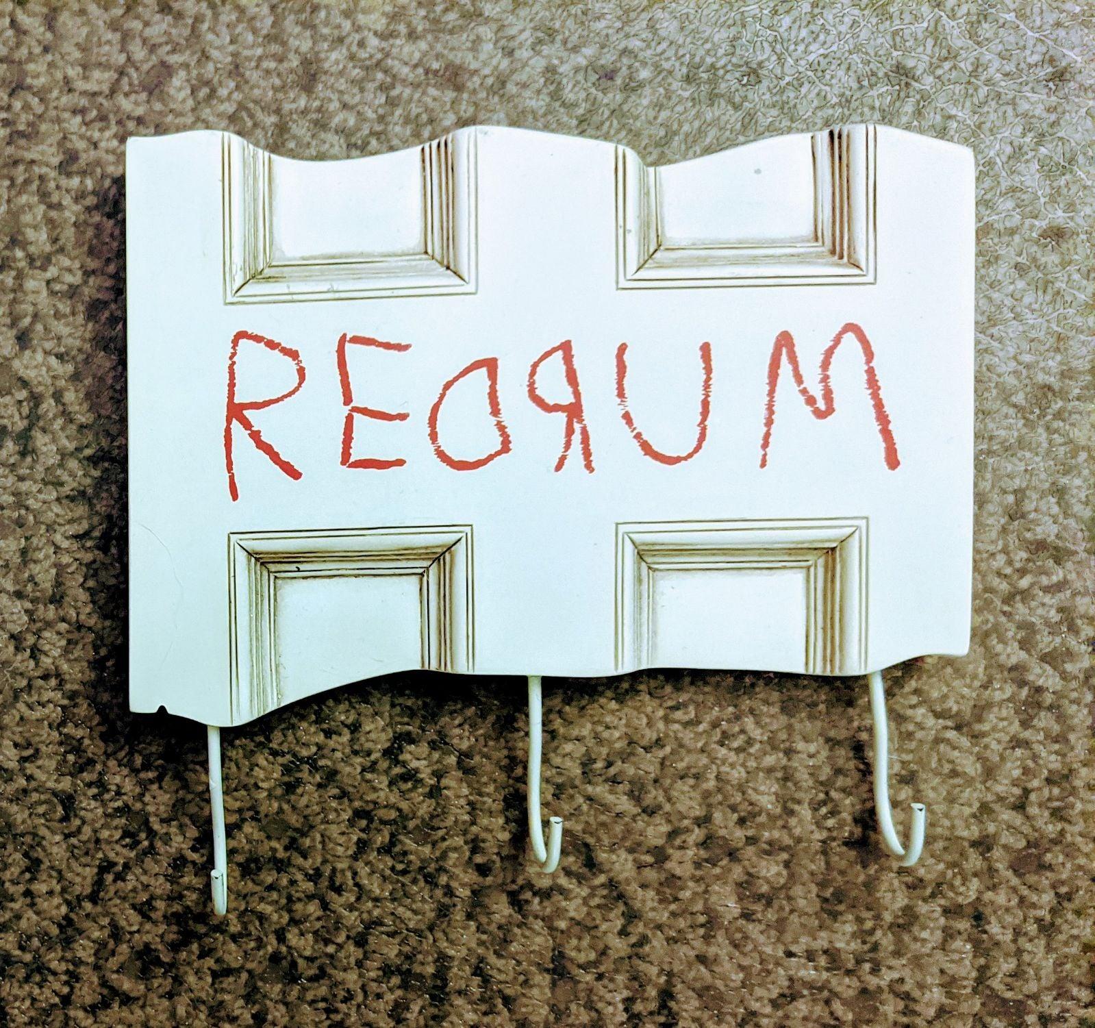 The Shining REDRUM Key Holder