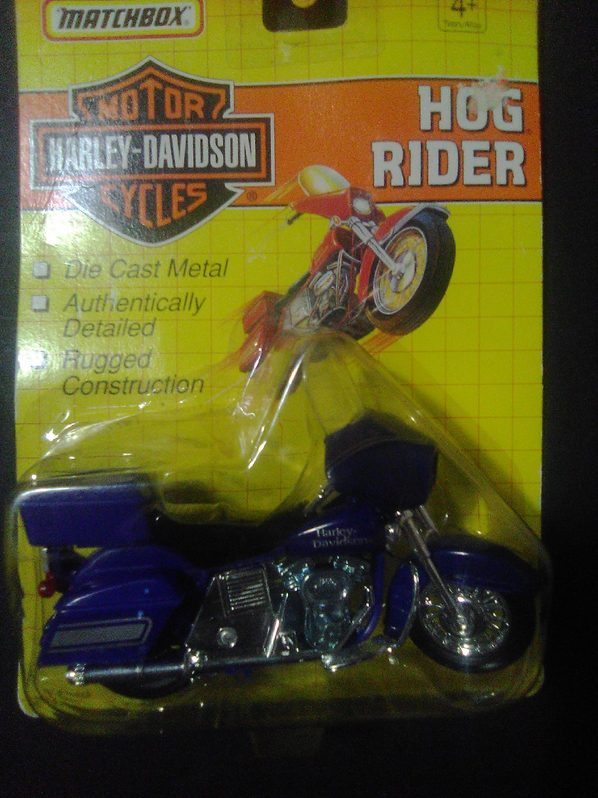 Matchbox Hog Rider