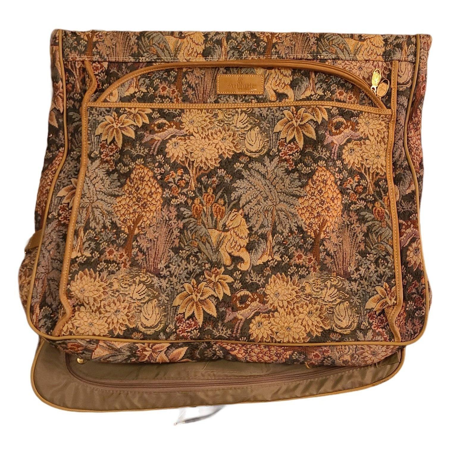Atlantic vintage tapestry garment bag