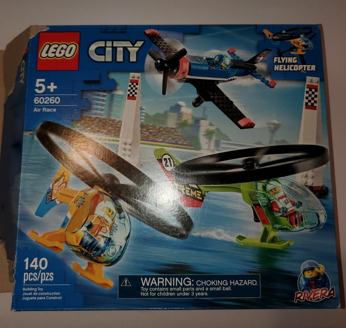 LEGO City: Flying Helicopter and Jet