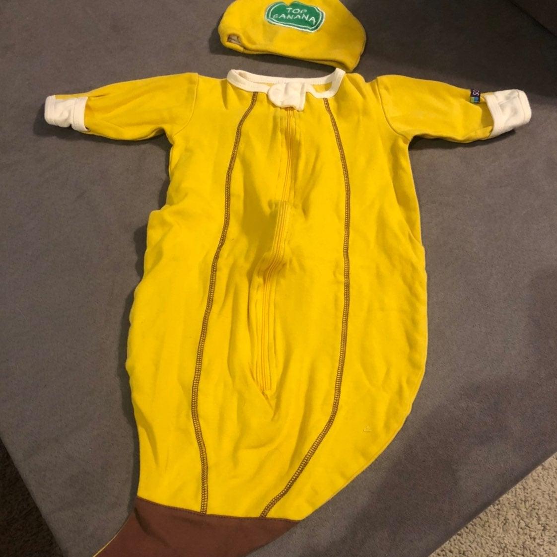 Baby banana halloween costume