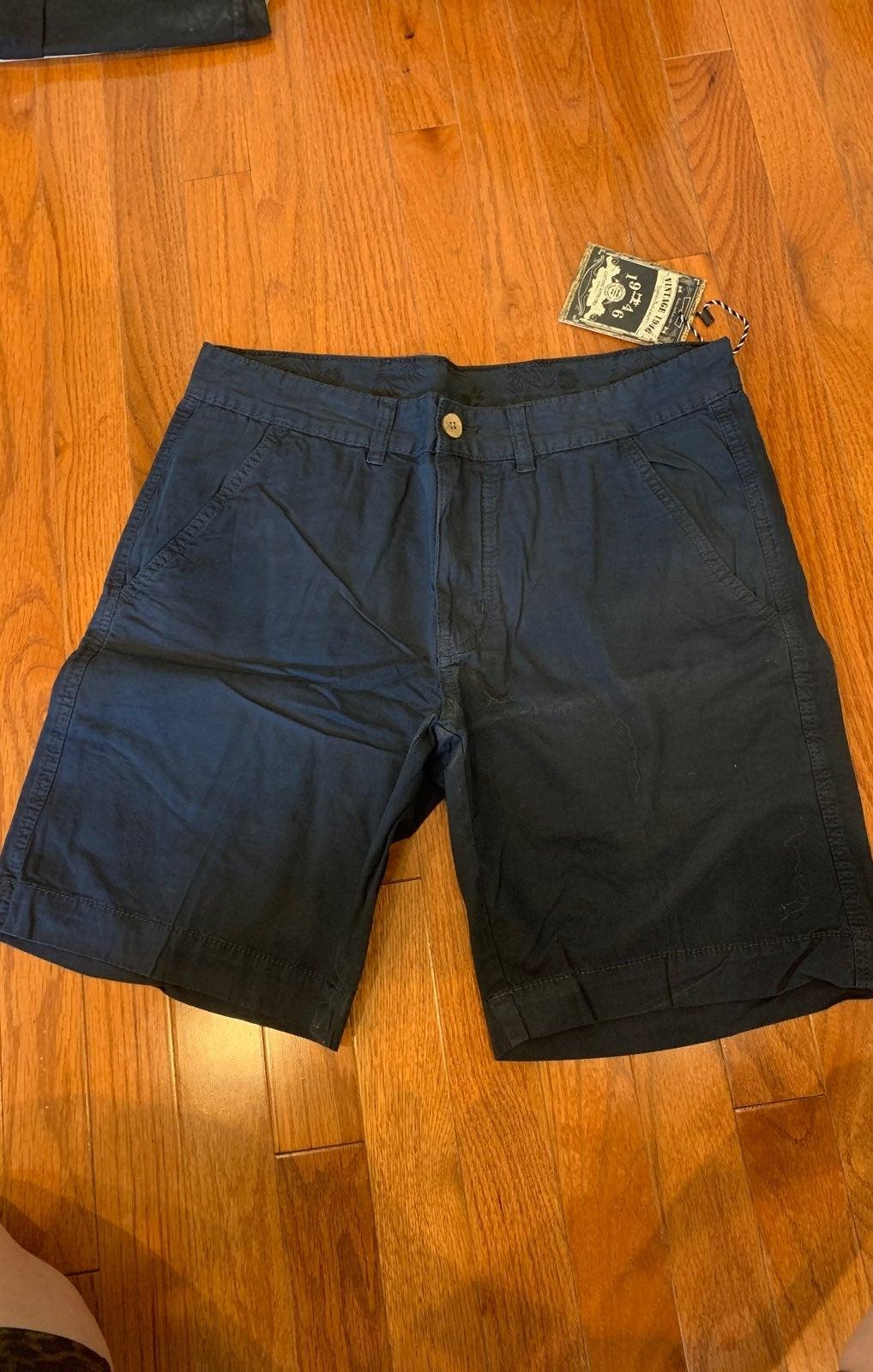 Mens Vintage 1946 navy shorts