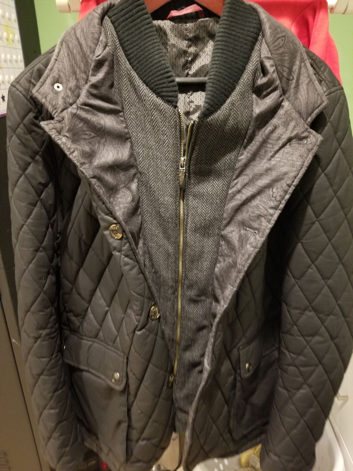 Mens Ted Baker Quilted Jacket