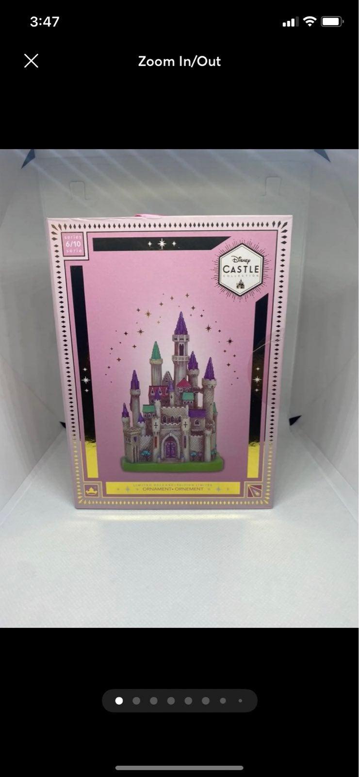 Disney Sleeping Beauty Castle Ornament