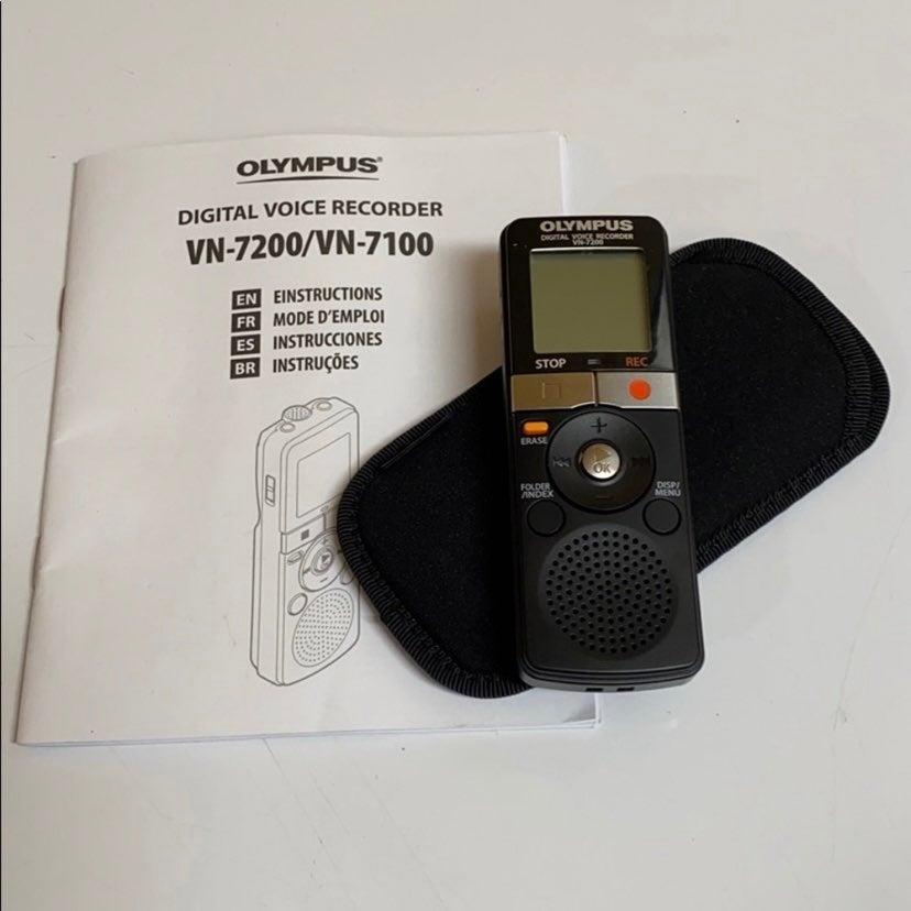 OLYMPUS DIGITAL VOICE RECORDER VN-7200