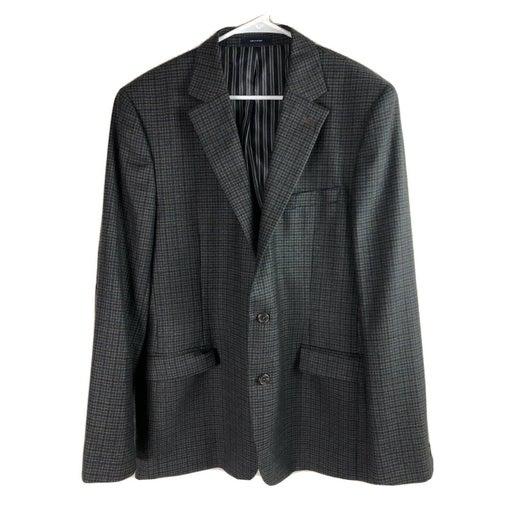 Stafford Wool Blazer Sport Coat Men 44R