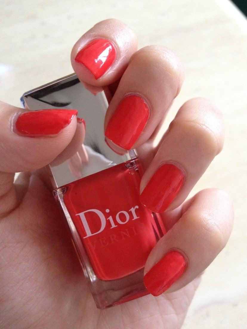 Dior Nail Polish RIVIERA 537