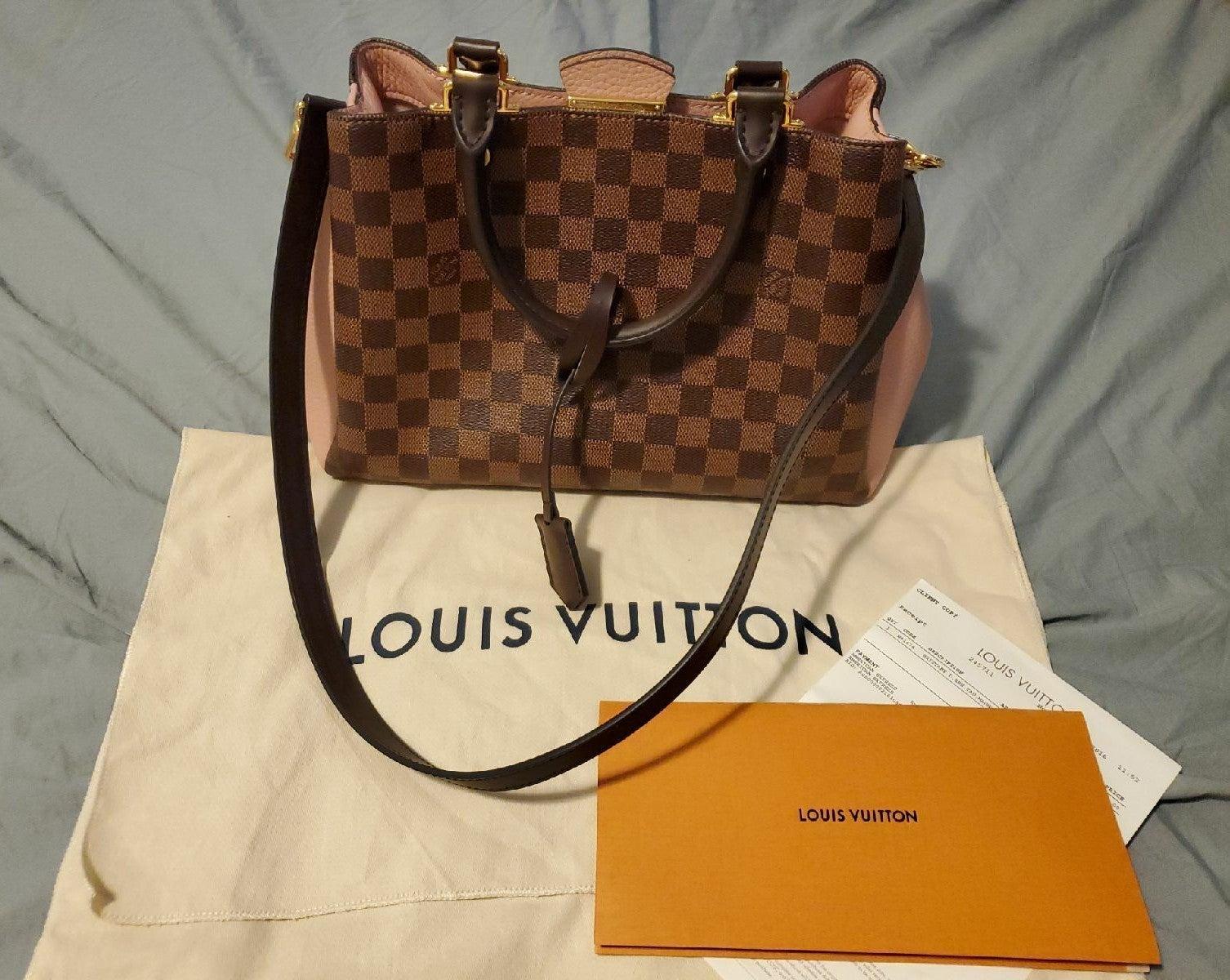 Louis Vuitton Brittany Damier Ebene Magn