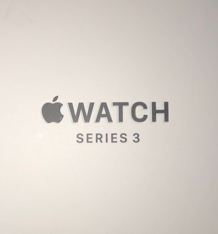 Apple Watch Series 3 42mm Aluminum Space
