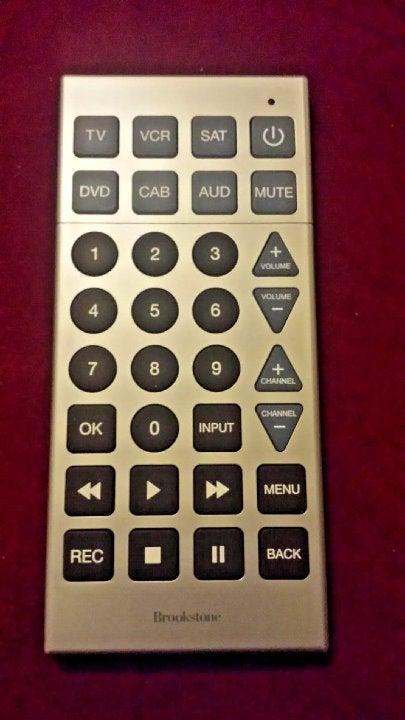 Brookstone Large Universal TV Remote