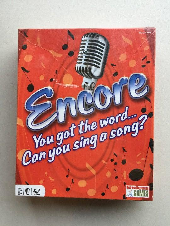 Encore Board Game