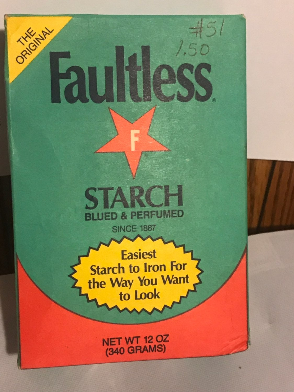 Vintage  Faultless Starch