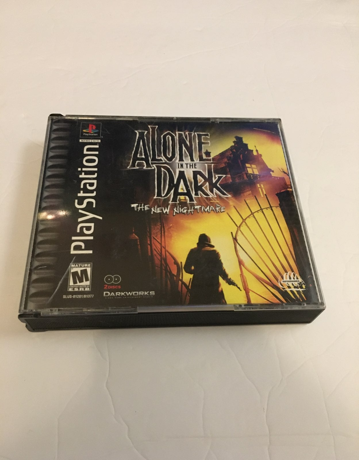 Alone in the Dark The New Nightmare-PS1