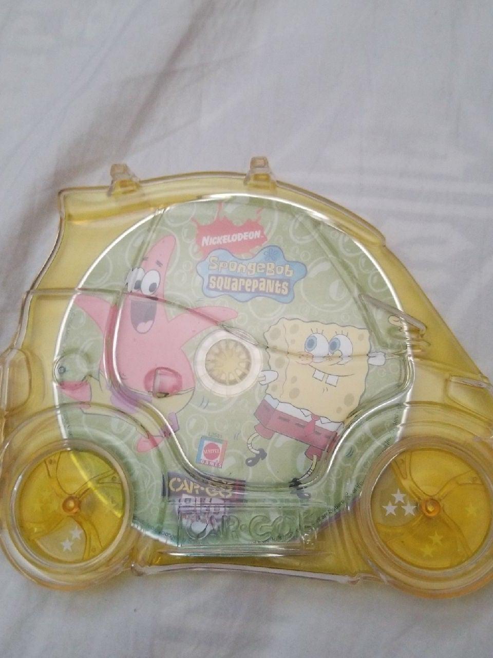 Sponge Bob Square Pants Car-Go DVD Trave