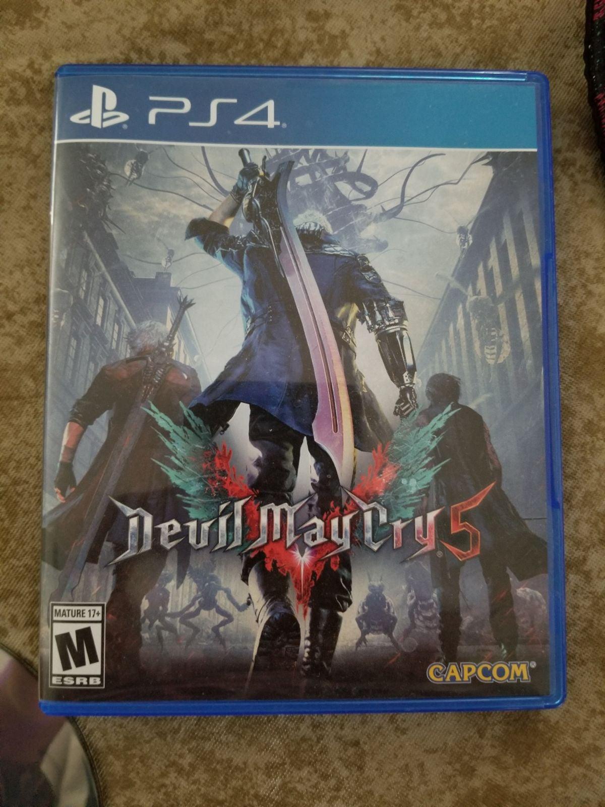 Devil May Cry 5 PlayStation 4 DMC5