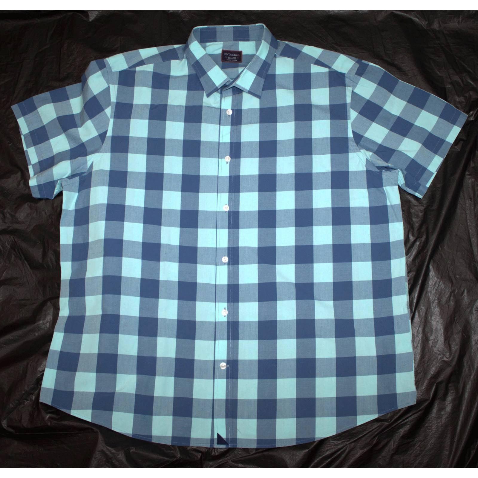 UNTUCKit Short Sleeve Button Shirt