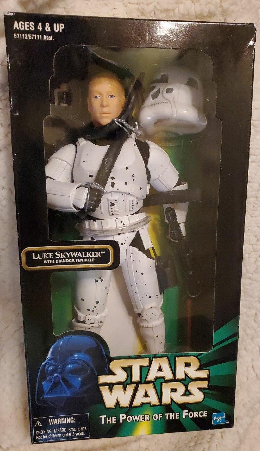 1998 Star Wars Luke w/Dianoga Tentacle