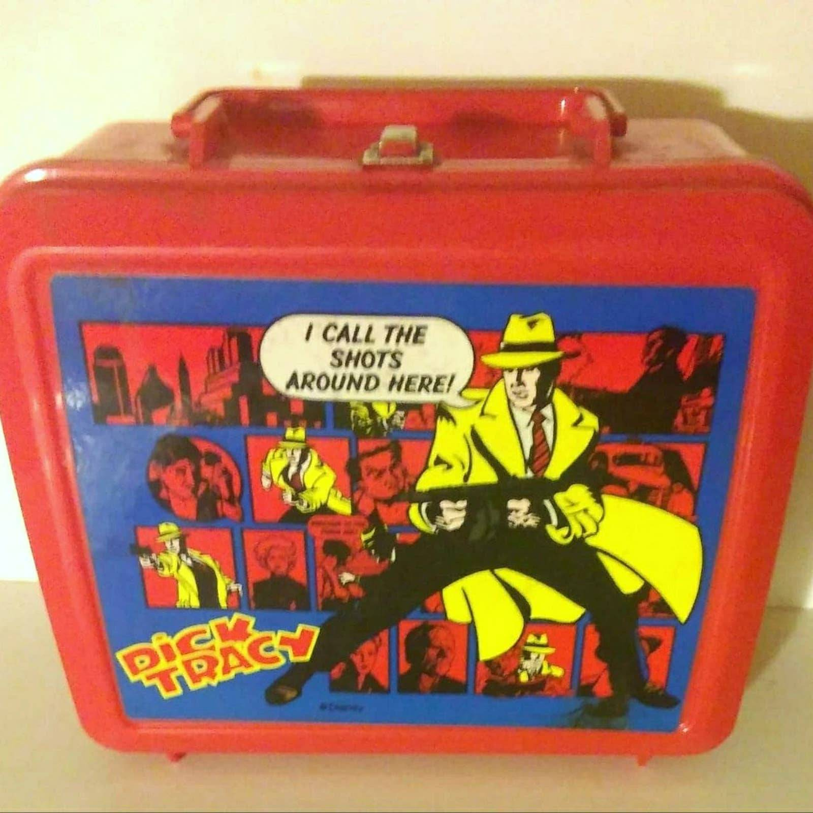 Dick Tracy Lunchbox by Aladdin 1990