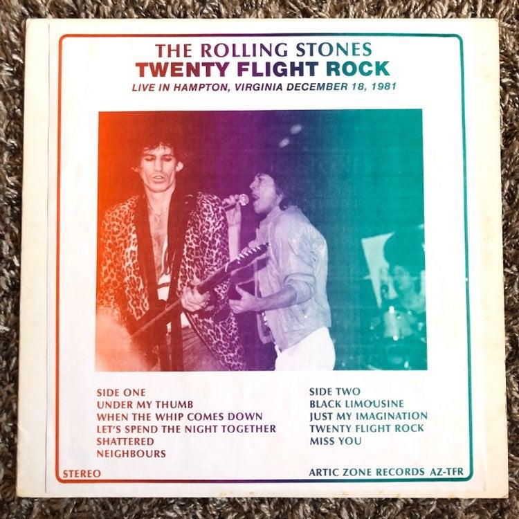 Rolling Stones Live In Virginia 1981 LP