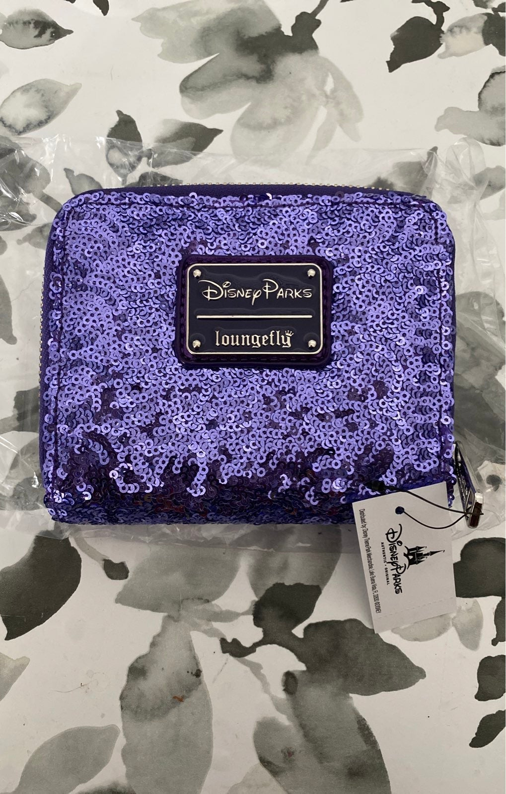 Purple Potion Loungefly Disney Wallet