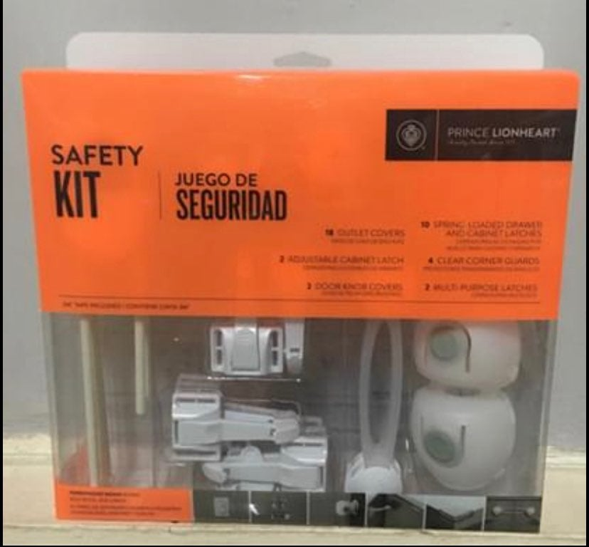 Prince Lionheart Safety Kit Complete Out