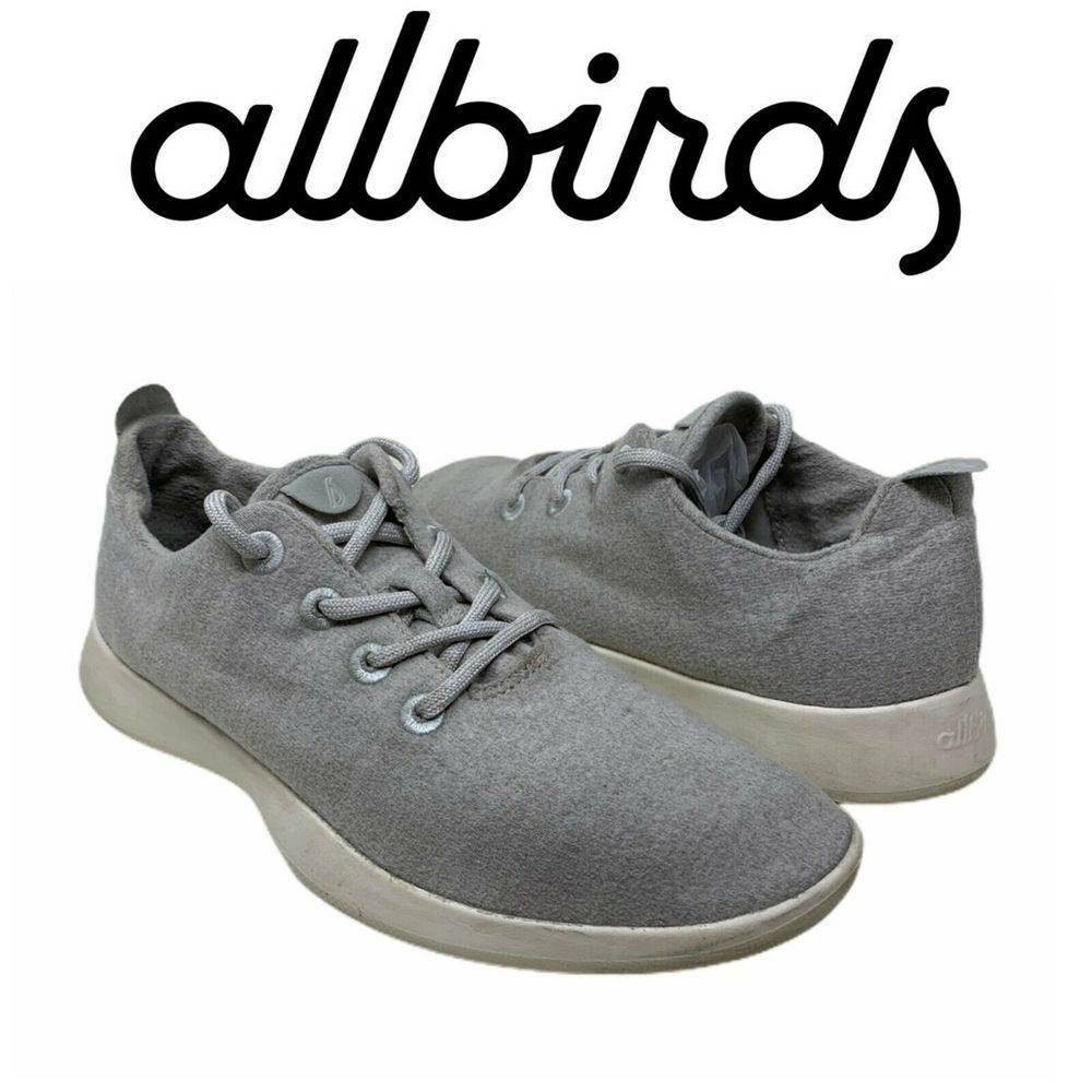 Allbirds Sz 11 Wool Runners Light Gray