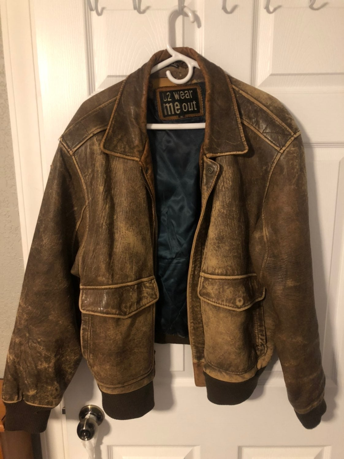 Leather Jacket XL or 42/44
