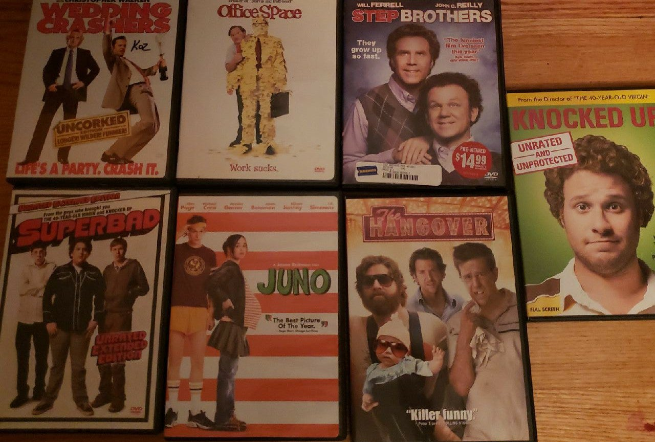 Lot of comedy dvds