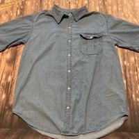 e85b3b9e9 Men s Large Short Sleeve Denim Shirt