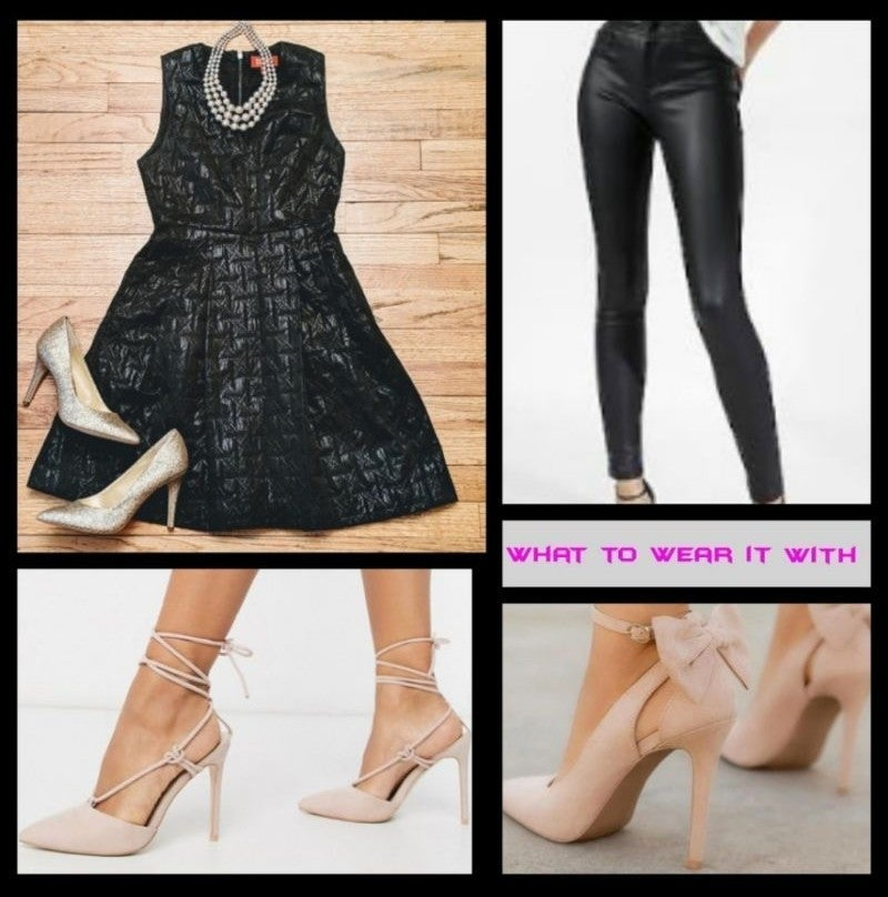 Stylish Black Top/Dress