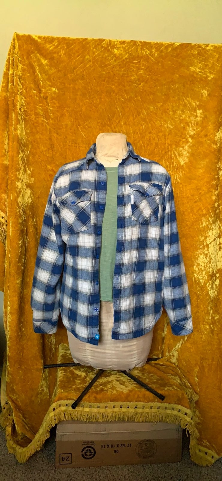 Columbia lined flannel