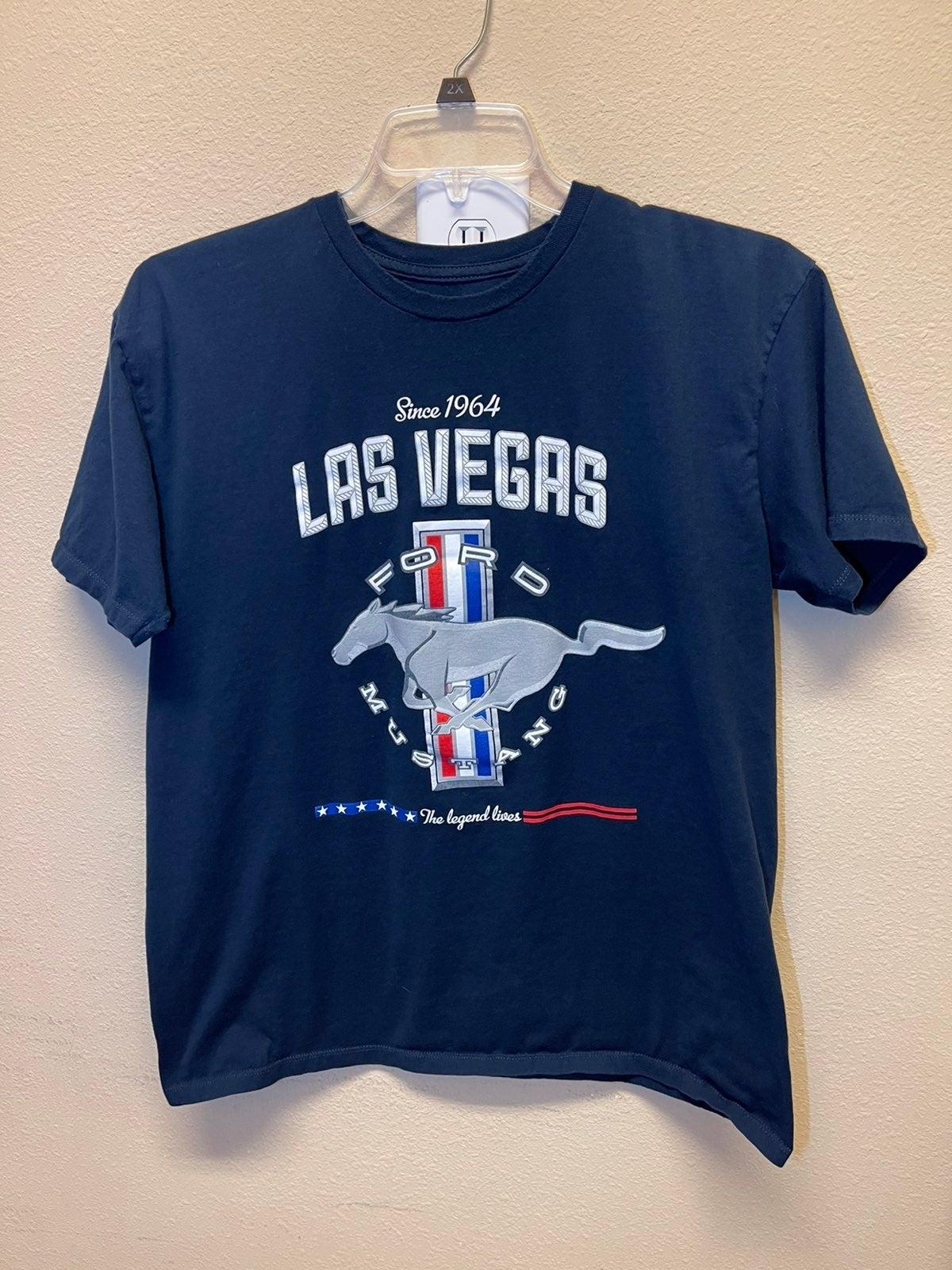 Ford Mustang Las Vegas Graphic TShirt