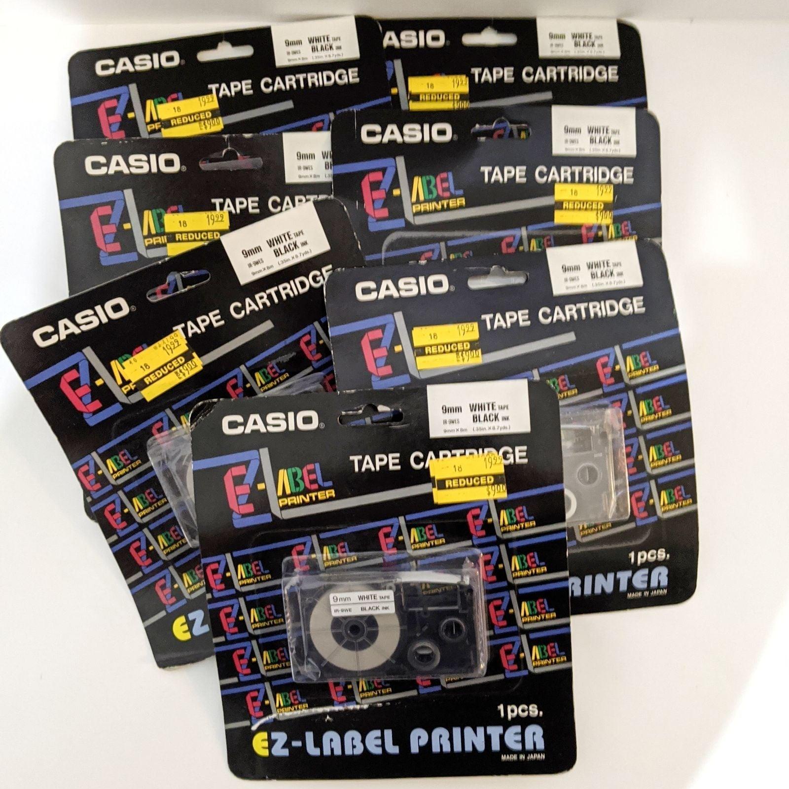 Casio EZ-Label Printer Cartridge IR-9WES