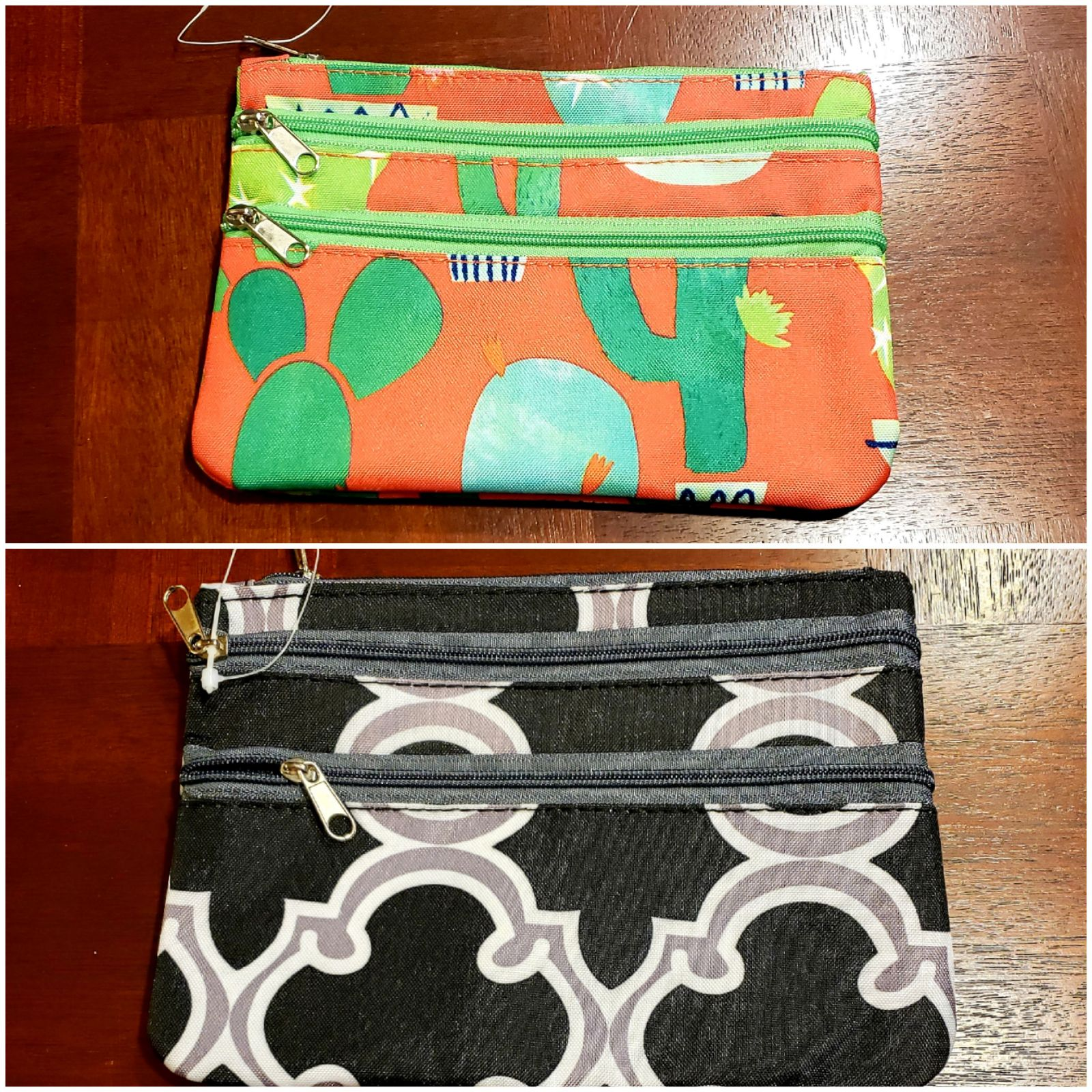 Set of 2 travel/makeup bags