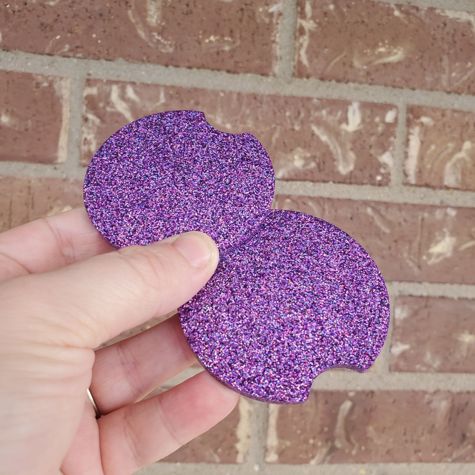 Purple Car Coasters
